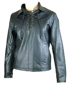 Black-Leather-Pullover-Shirt-PULL1