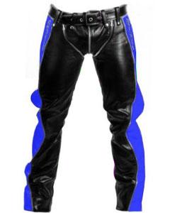 Black-and-Blue-Leather-Bondage-Jeans-R2-BLU-BLK-01