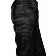 MENS-SEXY-REAL-BLACK-LEATHER-MOTORCYCLE-BIKERS-PANTS-JEANS-TROUSERS-J3-03