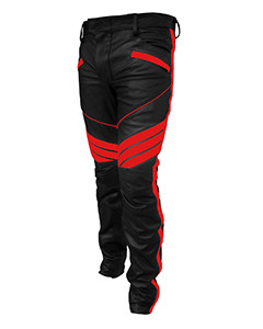 MENS-SEXY-REAL-BLACK-RED-LEATHER-MOTORCYCLE-BIKERS-PANTS-JEANS-TROUSER-J5RED-01