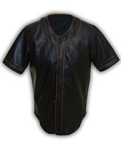 Mens-MLB-Real-Soft-Sheep-NAPPA-Leather-Base-Ball-Jersey-Shirt-08