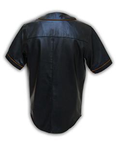 Mens-MLB-Real-Soft-Sheep-NAPPA-Leather-Base-Ball-Jersey-Shirt-09