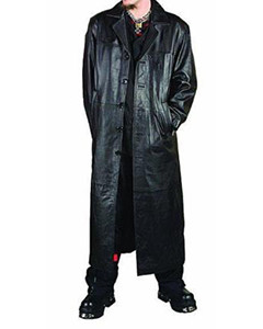 Mens-Pure-Leather-Full-Length-Matrix-Goth-Trench-Coat-T1-From-120