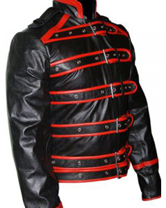 Mens-Real-Black-Red-Leather-Rockstar-Freddie-Mercury-Jacket-Wembley-86-FJ1