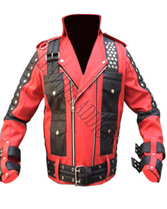 REAL-SOFT-SHEEP-NAPPA-LAMBS-LEATHER-ROCK-STAR-HEAVY-DUTY-RED-BLACK-SEXY-JACKET