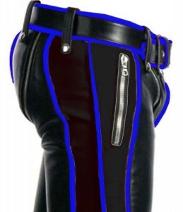 SEXY-REAL-BLACK-BLUE-LEATHER-HEAVY-DUTY-BONDAGE-PANTS-JEANS-BLUF-GAY-02