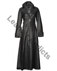 Very-Sexy-Womens-Nappa-Lambs-Leather-Steampunk-Goth-Vampire-Style-Trench-Coat
