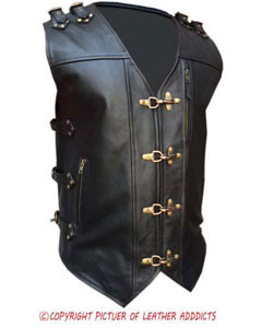 MENS-REAL-COW-LEATHER-BLACK-HEAVY-DUTY-MOTORCYCLE-BIKER-STYLE-VEST-WAISTCOAT-B24-1