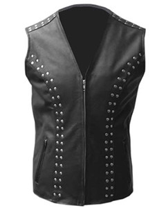 MENS-REAL-COW-LEATHER-BLACK-MOTORCYCLE-BIKER-STYLE-VEST-WAISTCOAT-001