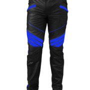 MENS-SEXY-REAL-BLACK-BLUE-LEATHER-MOTORCYCLE-BIKERS-PANTS-JEANS-TROUSER-J5BLU-1