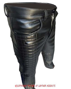 MENS-SEXY-REAL-BLACK-LEATHER-QUILTED-MOTORCYCLE-BIKERS-PANTS-JEANS-TROUSER-001