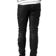 MENS-SEXY-REAL-BLACK-WHITE-LEATHER-MOTORCYCLE-BIKERS-PANTS-JEANS-TROUSER-J5WHT-4