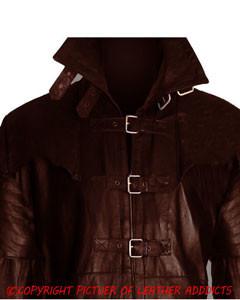Mens-Brown-Skipper-Leather-Goth-Matrix-Trench-Coat-Steampunk-Gothic-Van-Helsing-3