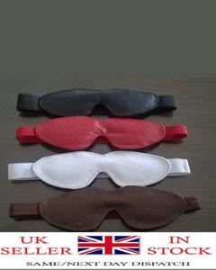 Real-Soft-Leather-Bondage-Blind-Folds-with-Elastic-Band-Fetish-Role-play-271588769566-1