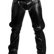SEXY-REAL-BLACK-LEATHER-HEAVY-DUTY-BONDAGE-PANTS-JEANS-BLUF-GAY-R2-BLK-1