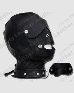 Sheep-Leather-Gimp-Mask-Hood-with-Removable-Blindfold-Gag-Fetish-Bondage-Gay