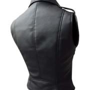 Very-Sexy-Womens-Ladies-Real-Black-Leather-Brando-Style-Bikers-Waistcoat-Vest-003
