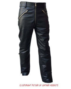 MENS-BLACK-LEATHER-JEANS-(JEANS6)-2