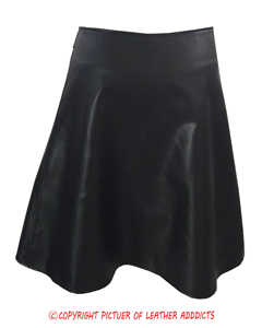 Mens-Real-Black-Cow-Leather-LARP-Kilt-With-Front-Fastening-Style-4