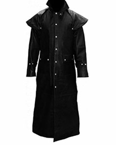 Mens-Real-Black-Leather-DUSTER-RIDING-HUNTING-STEAMPUNK-TRENCH-COAT-T7-BLK-1