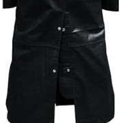 Mens-Real-Black-Leather-DUSTER-RIDING-HUNTING-STEAMPUNK-TRENCH-COAT-T7-BLK-4