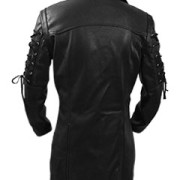 Mens-REAL-Black-Leather-Goth-Matrix-Trench-Coat-Steampunk-Gothic-Van-Helsing-2