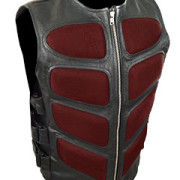 Mens-Sexy-Stylish-SWAT-Style-Real-Black-Leather-Bikers-Waistcoat-Vest-BLUF-S2-5