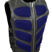 Mens-Sexy-Stylish-SWAT-Style-Real-Black-Leather-Bikers-Waistcoat-Vest-BLUF-S2-8
