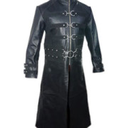 Mens-Real-Black-Leather-Goth-Matrix-Trench-Coat-Steampunk-Gothic-Van-Helsing-T21-1