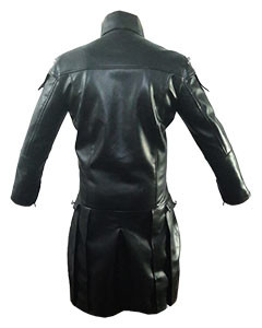 REAL-Black-MEN-Leather-Goth-Matrix-Trench-Coat-Steampunk-Gothic-Van-Helsing-T20-4