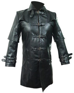 Men-Black-Leather-Trench-Coat-T5-2