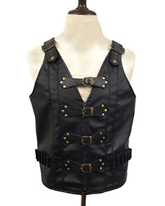 MENS-LEATHER-STEAMPUNK-GOTHIC-VEST-B25-2